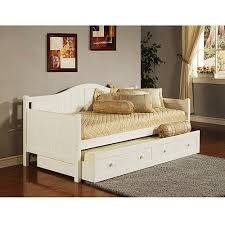 White Trundle Daybed Staci Daybed With Trundle White Walmart