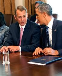 Barack Obama Cabinet Members Washington House Speaker Boehner Backs Obama On Syria