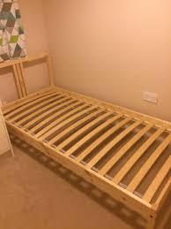Slatted Bed Base Queen Lnset Slatted Bed Base Standard Double Ikea In Ikea Slatted Bed