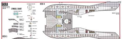 Uss Enterprise Floor Plan by Star Trek Blueprints U S S Akira Nx 62497