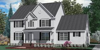 traditional 2 story house plans houseplans biz house plan 2862 c the richland c