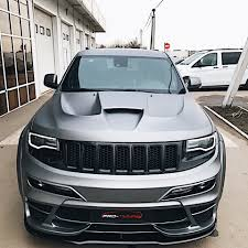 jeep custom jeep grand cherokee srt 2011 2017 custom hood