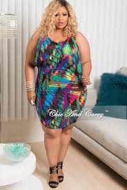 new plus size sleeveless dress top in purple royal blue green