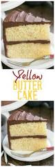 classic yellow butter cake with chocolate icing perfect cake for