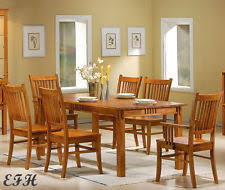 Arts And Crafts Dining Room Furniture by Arts And Crafts Mission Style Dining Sets Ebay