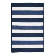 Coastal Area Rugs Home Decorators Collection Cape Cod Nautical 7 Ft X 9 Ft Braided