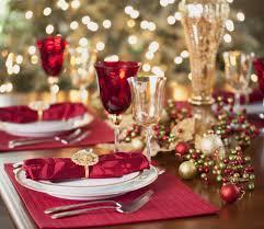 Christmas Table Settings Amazing Christmas Table Settings Twuzzer