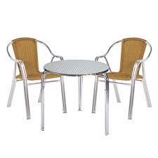 Aluminium Bistro Table And Chairs Bistro Tables Our Pick Of The Best Ideal Home