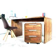 bureau chene massif moderne bureau en bois moderne steppe bureau bois tiroirs mobiliermoss