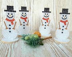 Gifts For Home Decoration Snowman Decoration Etsy
