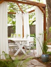 Curtains For Pergola Hang Curtains On Your Pergola Pergola Curtains Pergolas And