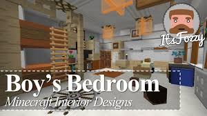 Minecraft Interior Design Bedroom Minecraft Interior Design Boy S Bedroom