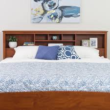 Bed Frames Ta Chelsea Cherry King Bookcase Headboard Free Shipping On Orders