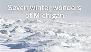 seven winter wonders of michigan mlive