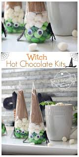 ideas for a kids halloween party fun and easy witch chocolate kit idea for a kid u0027s halloween