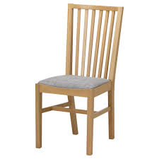 Folding Chairs Ikea Norrnäs Chair Oak Isunda Grey Solid Oak Ikea Dining Chair And