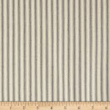 Blue And White Striped Upholstery Fabric 44