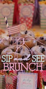 sip and see sip and see baby brunch baby shower sip and see