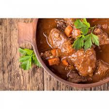 boeuf cuisiné daube de bœuf 1 2 parts plat cuisiné artisanal