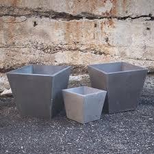 organicrete concrete planter u2014 modern craftsman concrete wood