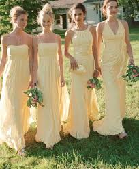 yellow dresses for weddings yellow bridesmaid dresses in toronto women s style