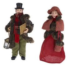 as is 4 dickens family carolers by valerie page 1 qvc