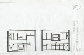 floor plan of a kitchen kitchen floorplan and section rachelgodley