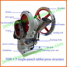 automatic and hand operated small tdp tablet punching machine for