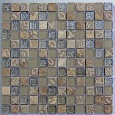 lux 020 sand 25x25mm mosaic tile topps tiles