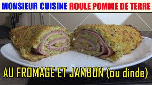 lidl recettes de cuisine roulé pomme de terre au fromage jambon recette monsieur cuisine