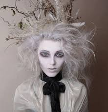 Scary Halloween Looks Ghostly White Halloween Party Gothic Makeup Fx Makeup And Avant