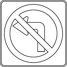 Panneau routier 22 Objets  Coloriages à imprimer