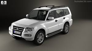 mitsubishi wagon 360 view of mitsubishi pajero montero wagon 2015 3d model