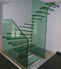 Glass Banisters For Stairs Glass Stairs Staircase123