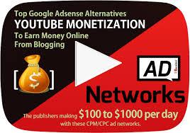 top 7 best google adsense alternatives for youtube channel video