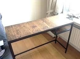 plateau de bureau en bois plateau de table en bois massif ikea amazing table plateau table