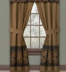 rustic curtains and cabin window valances the cabin shack