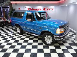 blue bronco car 1994 ford bronco 105