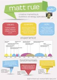 Marketing Resume I Design Infographic Resumes Check Out My Portfolio By Clicking