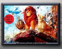 lion king art etsy