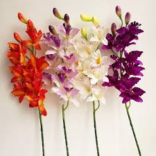 Artificial Orchids Popular Artificial Cymbidium Orchids Buy Cheap Artificial