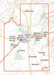 Map Of Spokane Washington A Collection Of Business Resources In Spokane Wa Advantage Spokane