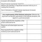 business requirement document template simple simple business