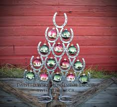 horseshoe christmas tree horseshoe christmas tree horseshoe christmas twisted wire