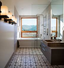 Bathroom With Bath And Shower Framed To Perfection 15 Bathrooms With Majestic Mountain Views