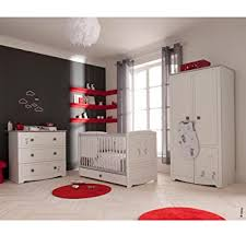 bébé 9 création chambre minnie mickey avec lit 60x120 cm