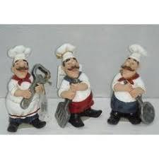 Chef Kitchen Decor Sets Fat Italian Chef Brother Figurines Kitchen Decor Italian Chef