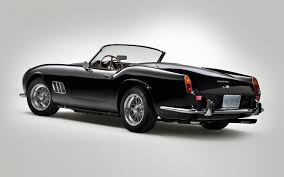 Ferrari California Black - ferrari 250gto california looks incredible from any angle
