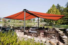 Free Standing Awning Markilux Syncra 2 Fix Freestanding Awnings Roché Awnings