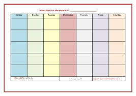 meal planning printables and crafts round up inner compass designs